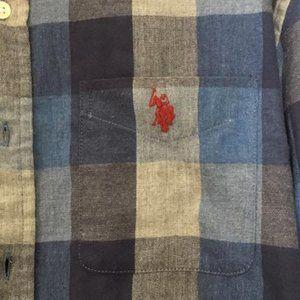 U.S. Polo Assn. Plaid long sleeve